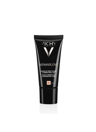 Vichy Vichy Dermablend Yüksek Kapatici Etkili Tüm Cilt Tipleri İçin Likit Fondöten 25 Nude 30 Ml Ten